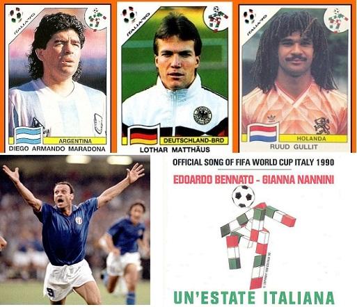 Mundial futbol italia 90 cancion