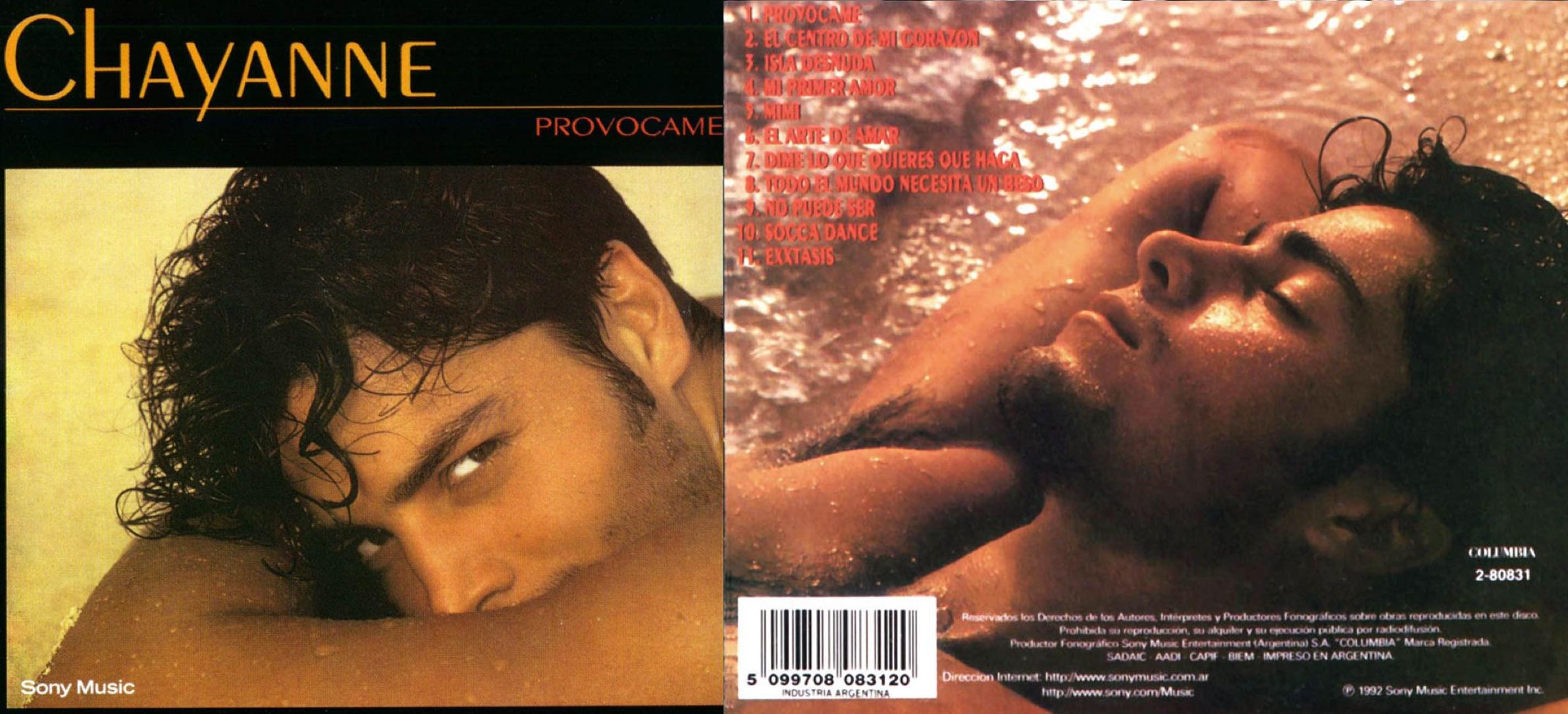 """""""Provócame"""", álbum de 1992 que fue un hito en la carrera de Chayanne."""