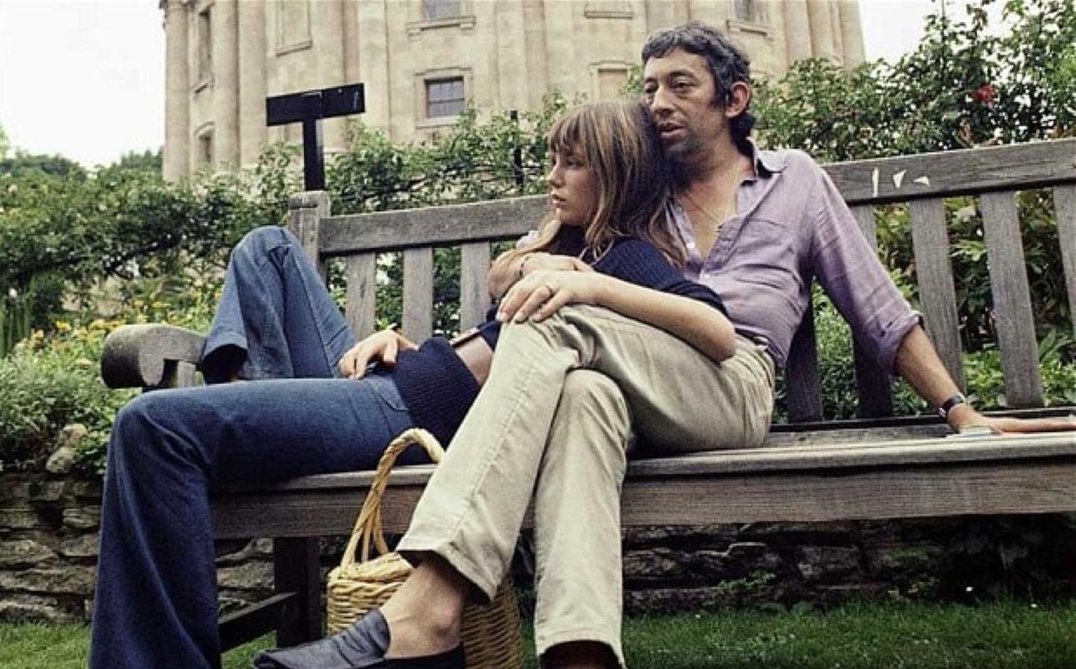 Serge y Jane en la Universidad de Oxford en 1969. (Foto: Andrew Birkin)