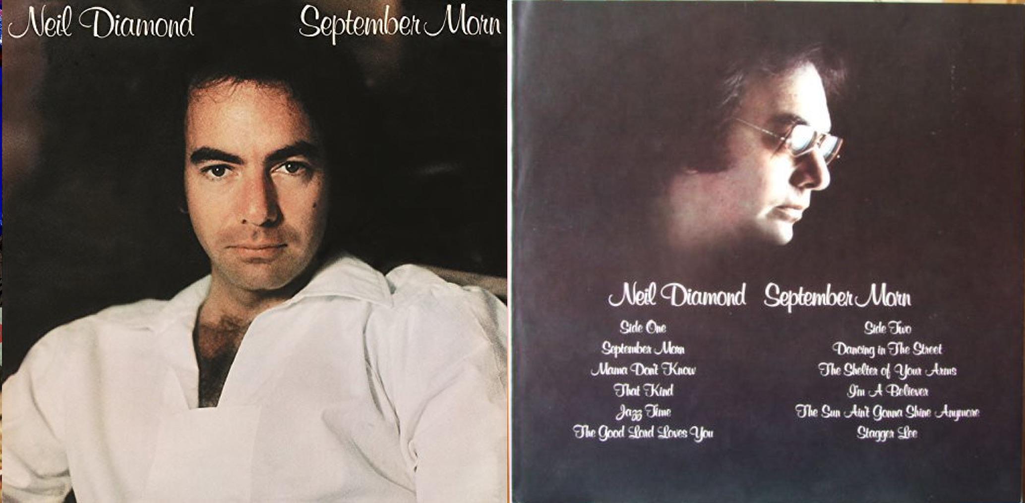 """""""September Morn"""", álbum lanzado en 1979."""
