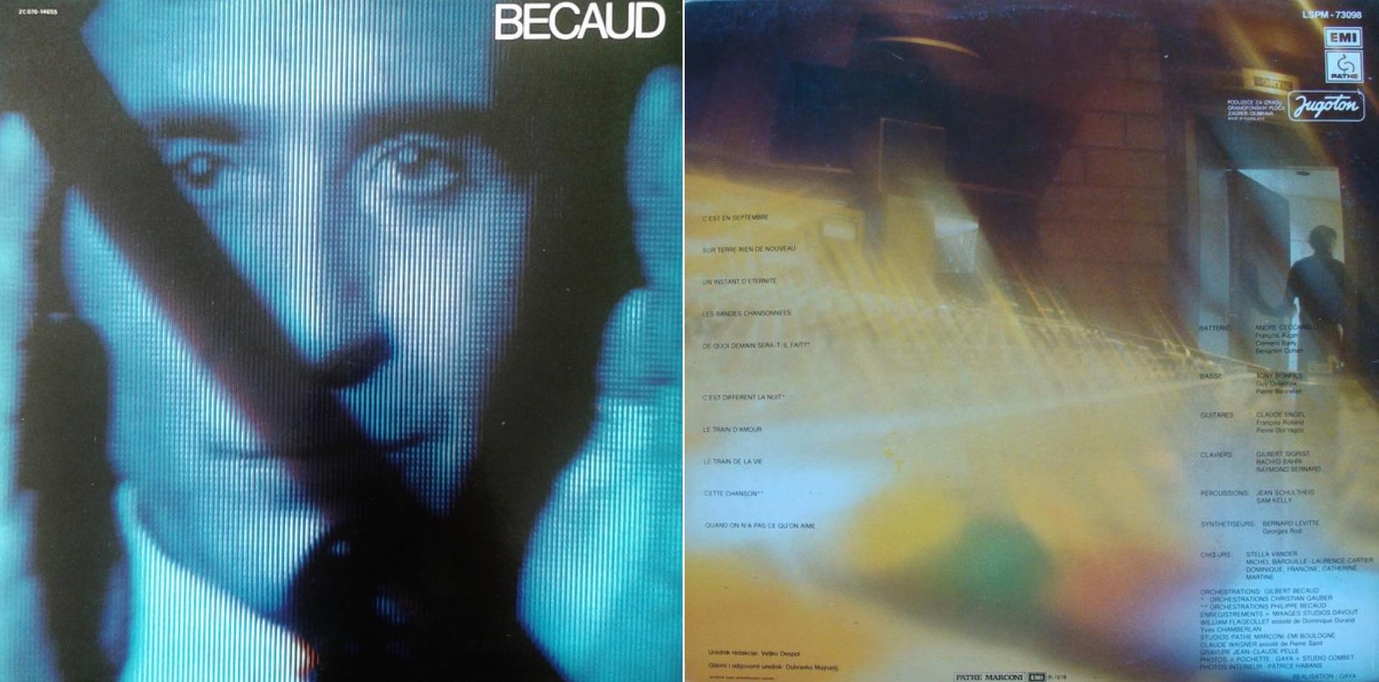 """""""C'est en septembre"""", álbum lanzado en 1978."""