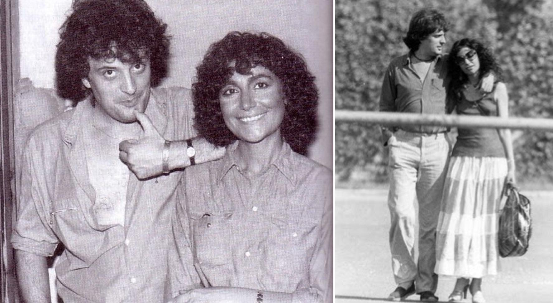 """Ivano Fossati y Mia Martini. (Fotos: """"Carpe Diem"""", blog dedicado a Mia Martini)"""