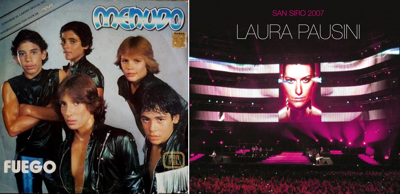 """Menudo, Laura Pausini y el hombre que odia """"Y mi banda toca el rock"""""""