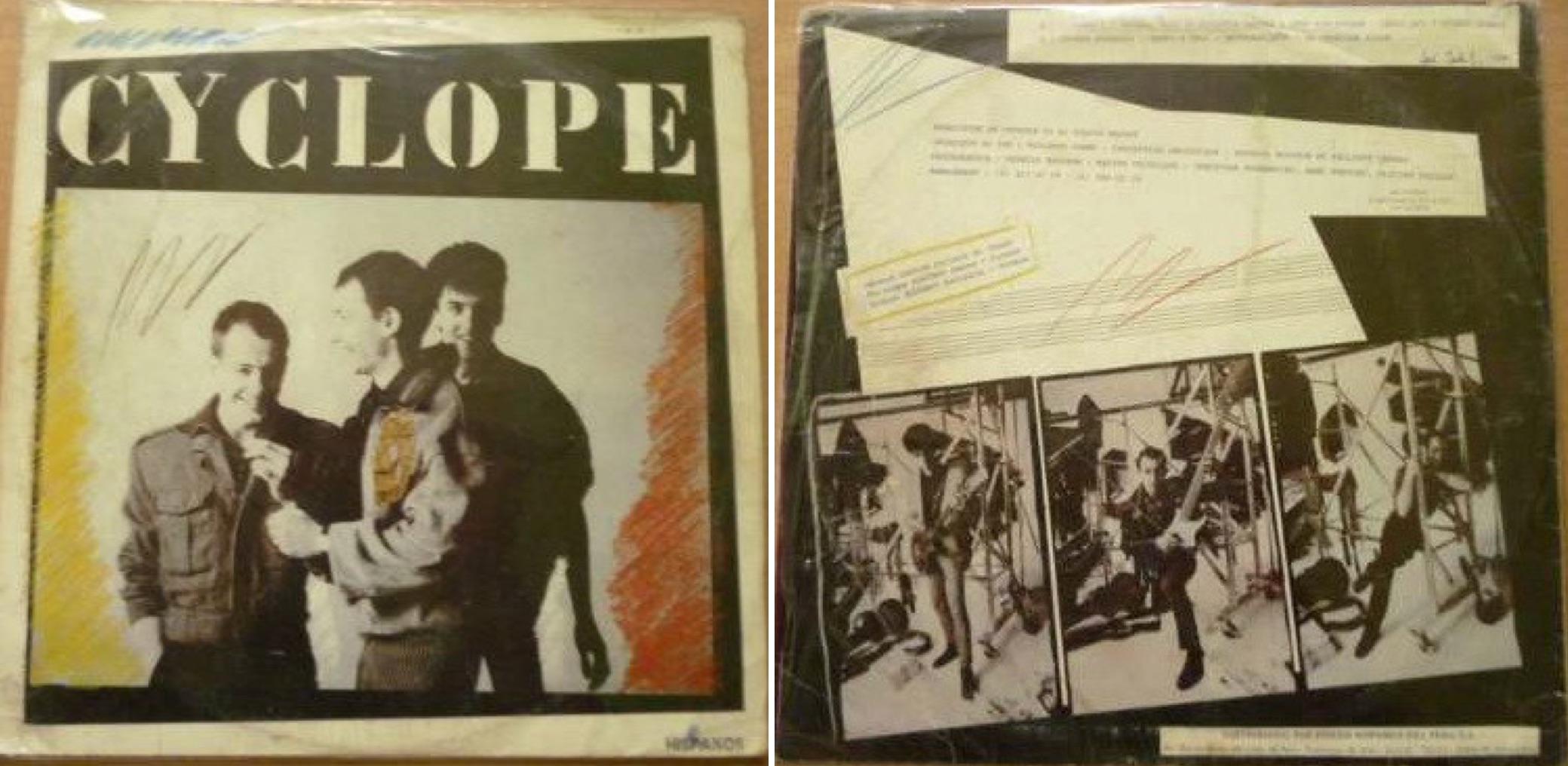 """""""Cyclope"""", álbum reeditado en el Perú en 1987."""