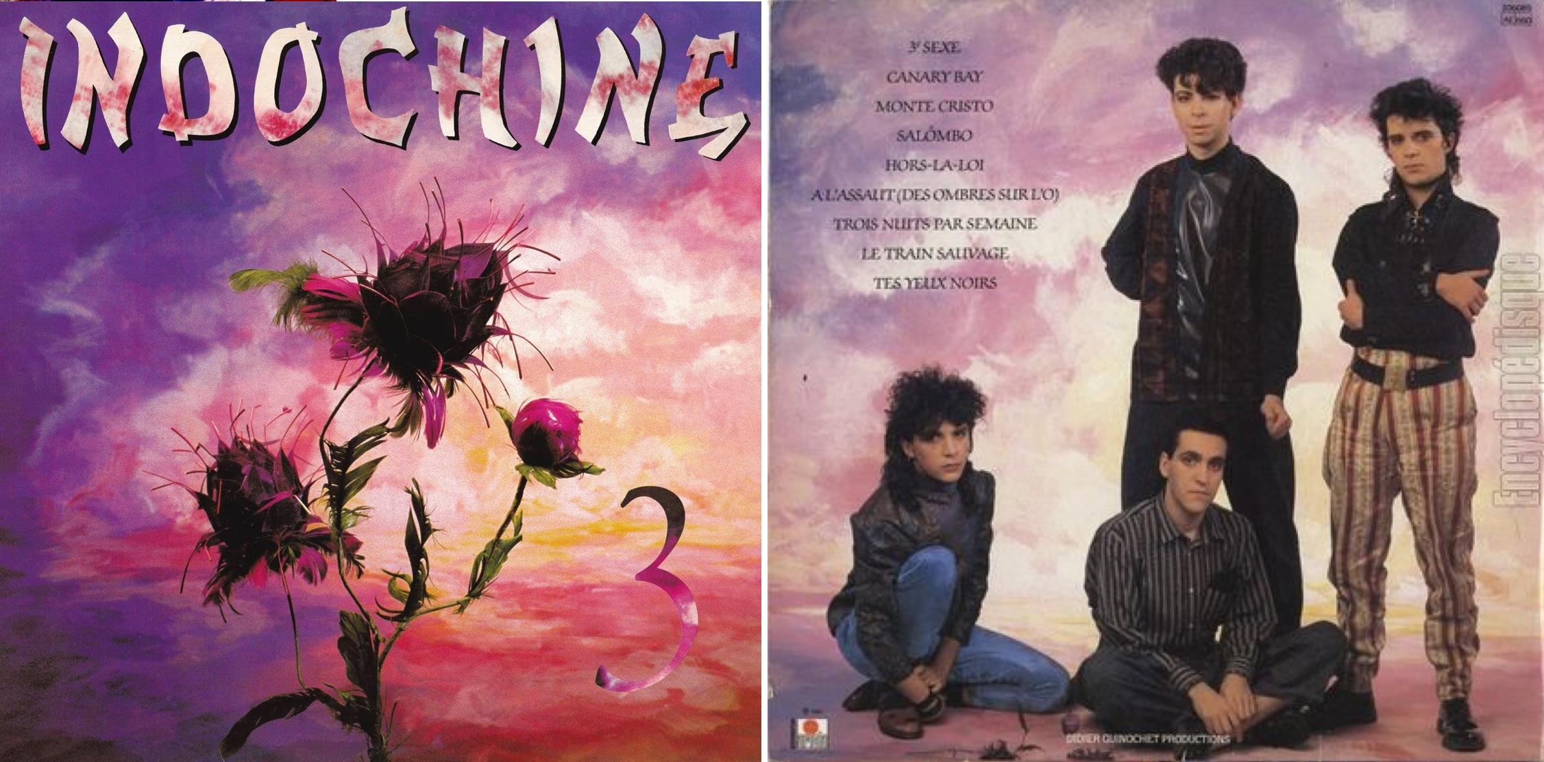 """""""3"""", álbum lanzado en 1985."""