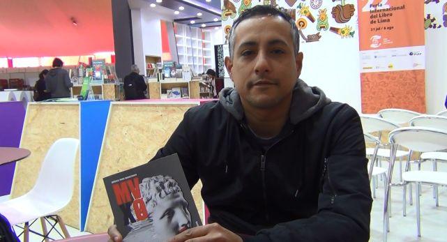 """Conversamos con Rafael García Godos Salazar sobre su poemario presentado en la FIL Lima 2017, """"MVXØ Música para monstruos"""" (Paracaídas Editores)"""