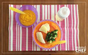 Comida alimentacion complementaria. Mamá Chef Colette Olaechea Papillas