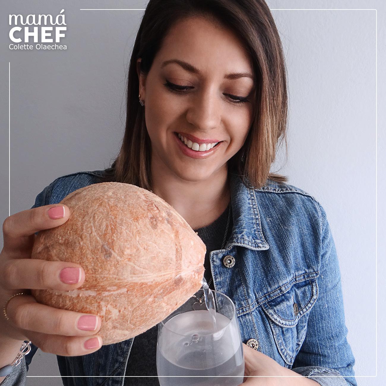 Educación alimentaria- Mamá Chef Colette Olaechea - propiedades del coco