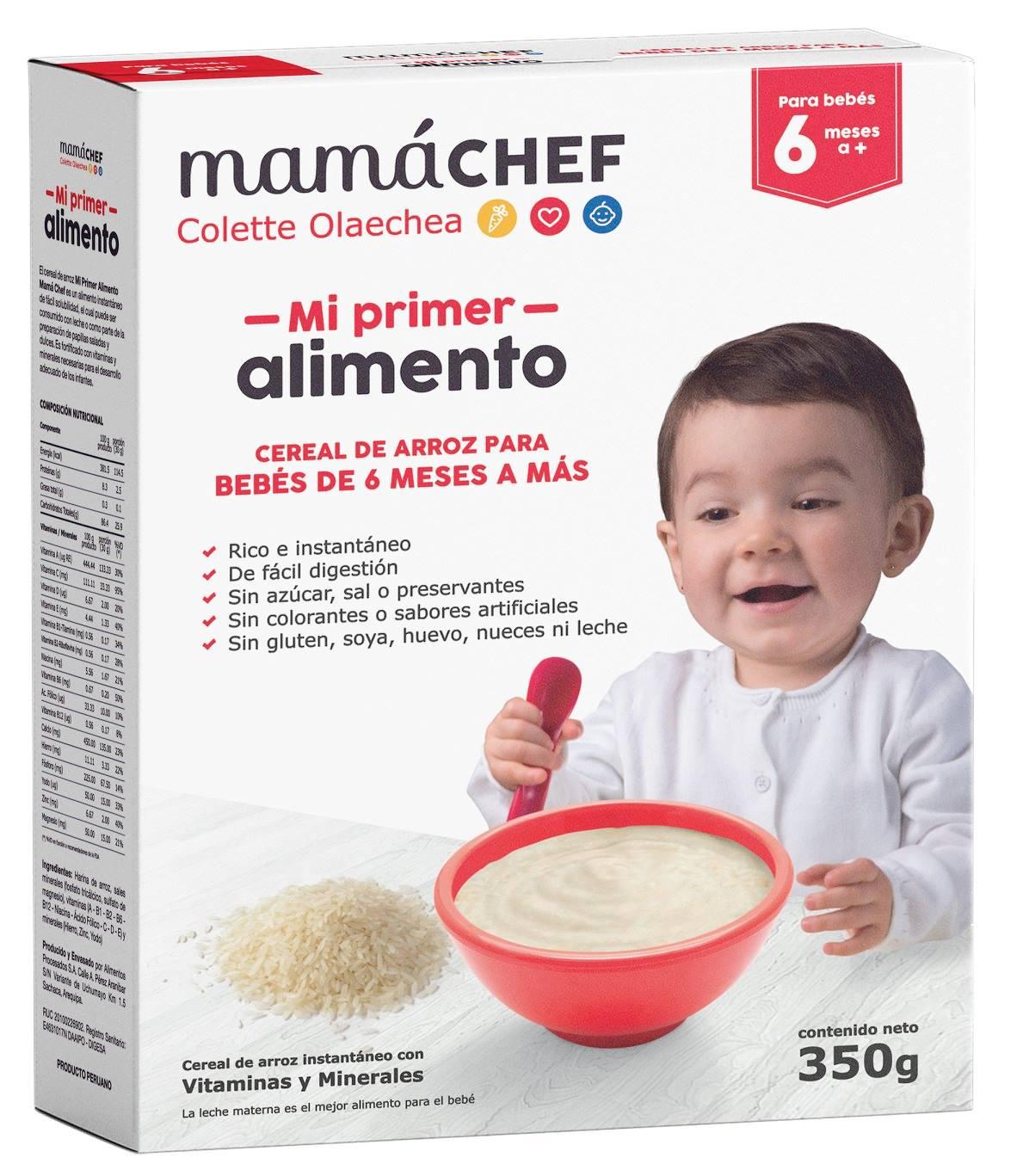 Cereal de arroz Mama Chef Colette Olaechea