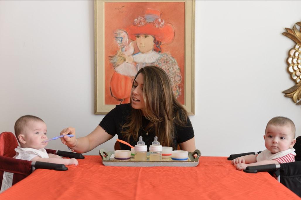 MAMA CHEF COLETTE OLAECHEA ALIMENTACION COMPLEMENTARIA RECETAS BEBES DE 6 MESES A MAS