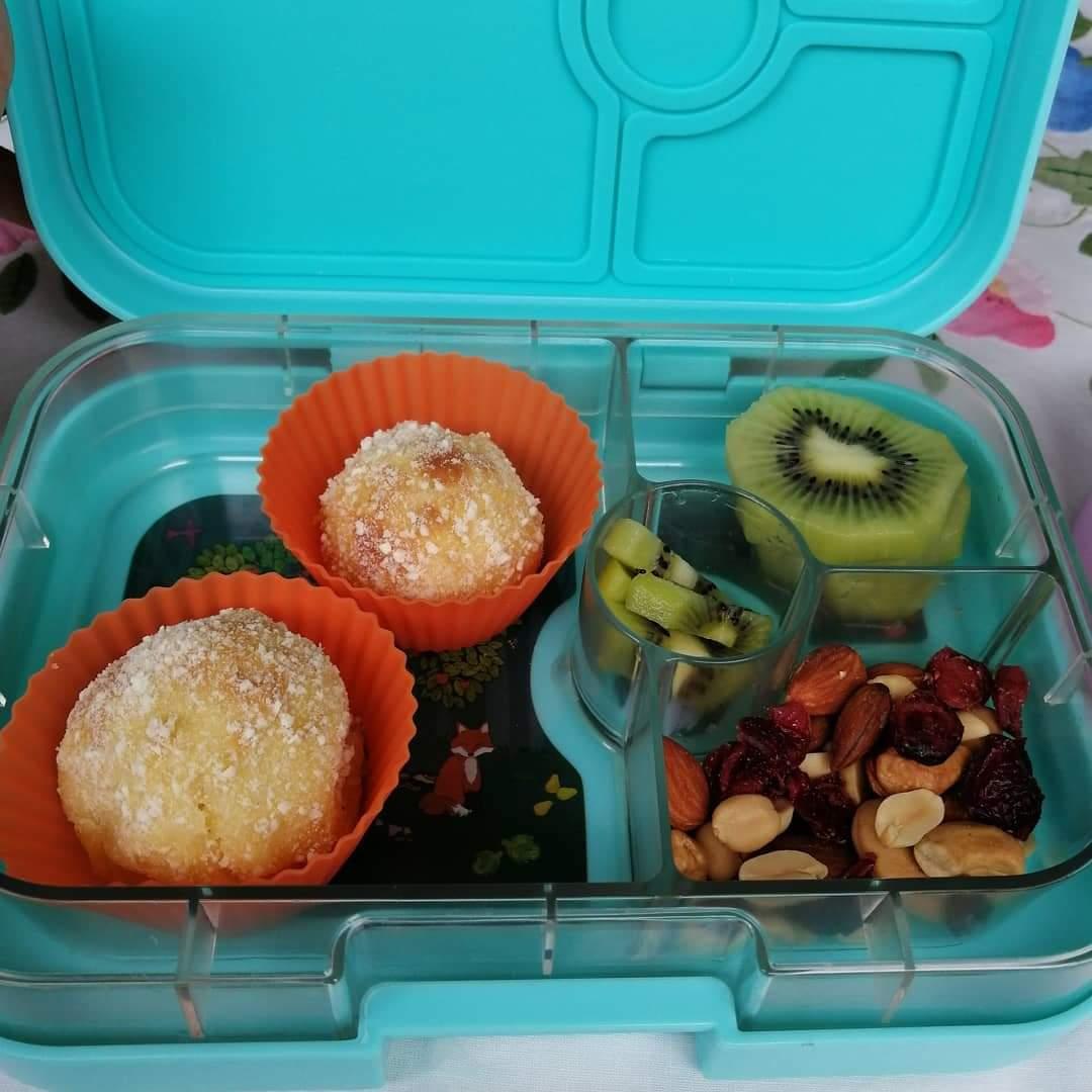 bolitas de yuca - bolitas de queso- frutos secos- nueces- loncheras- kiwi- mama chef- colette olaechea