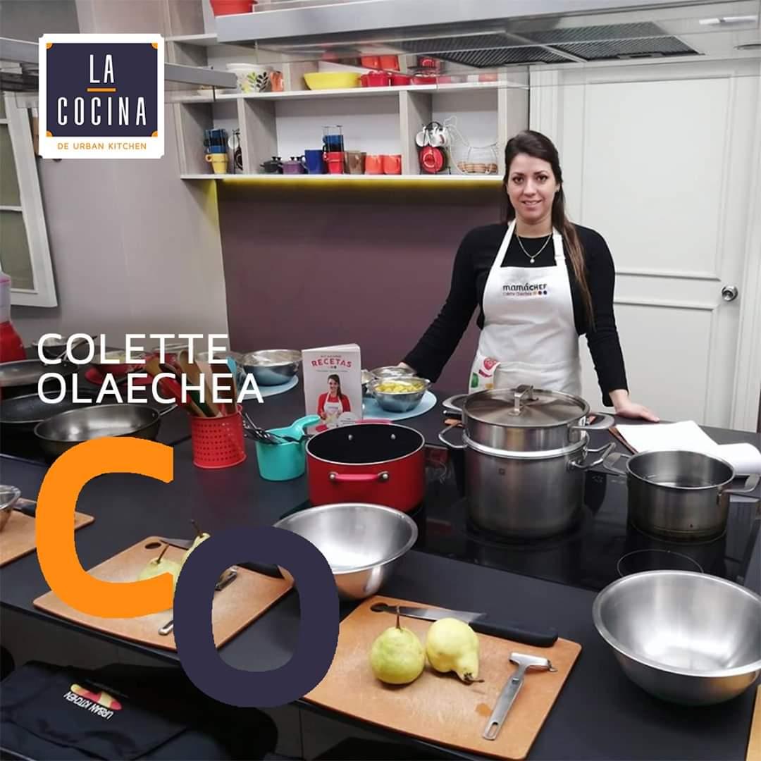 mama chef- colette olaechea- la cocina de urban kitchen -