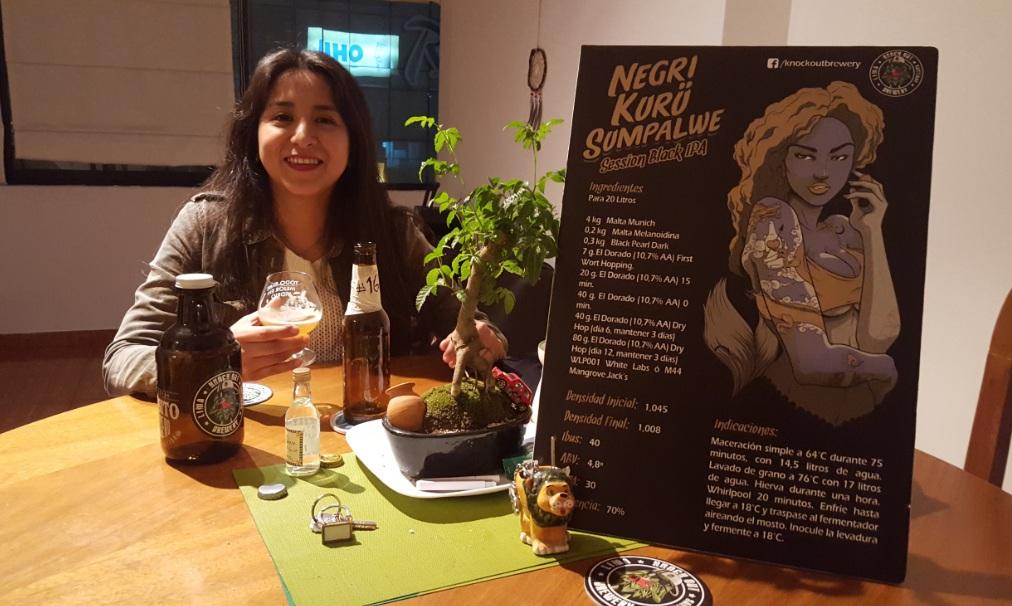 Silvia de Tomás, una de las primeras mujeres cerveceras en Perú