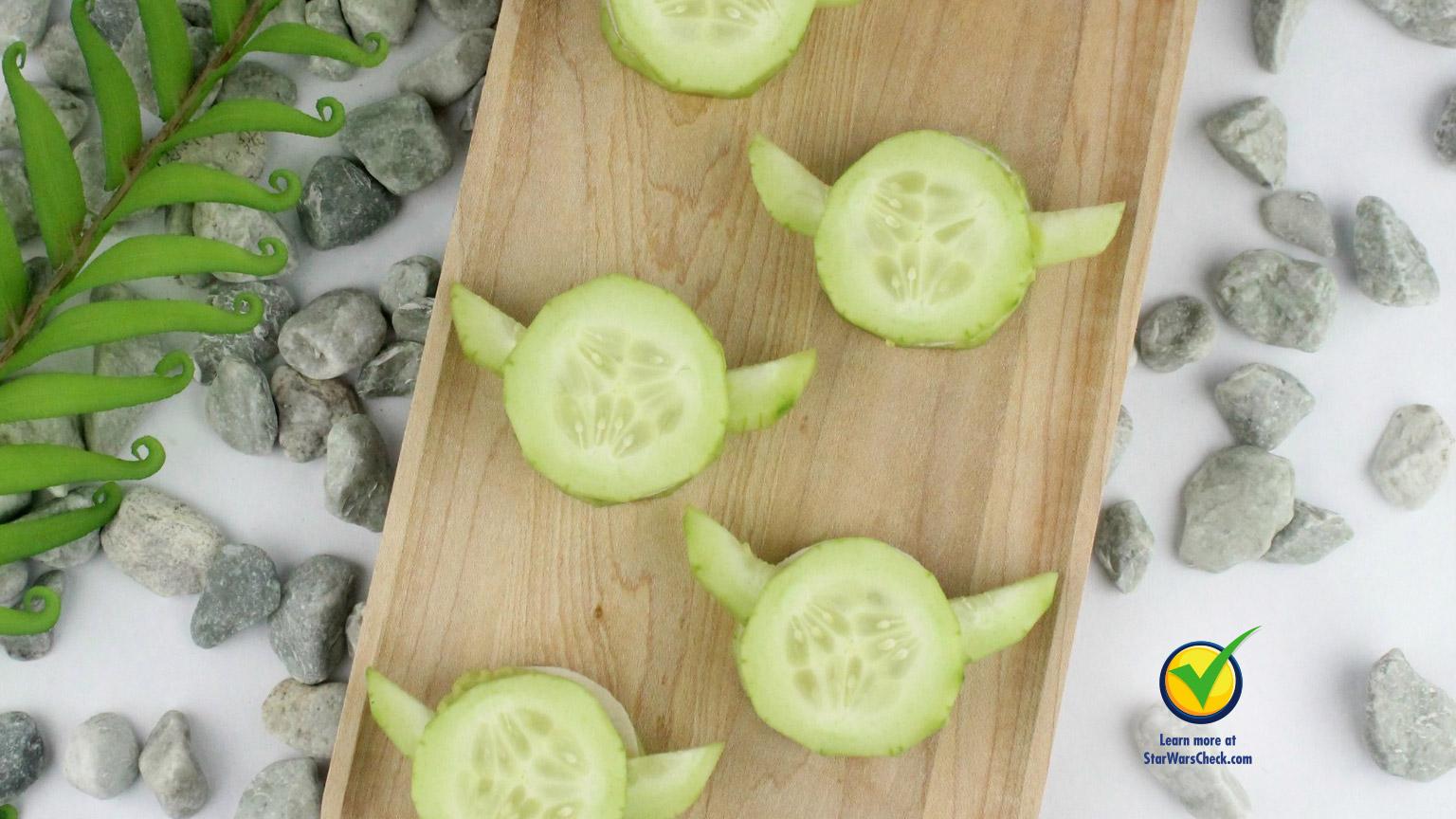 ¡Empieza a comer sano con Yoda!