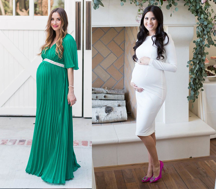 Vestidos Baby Shower 2018