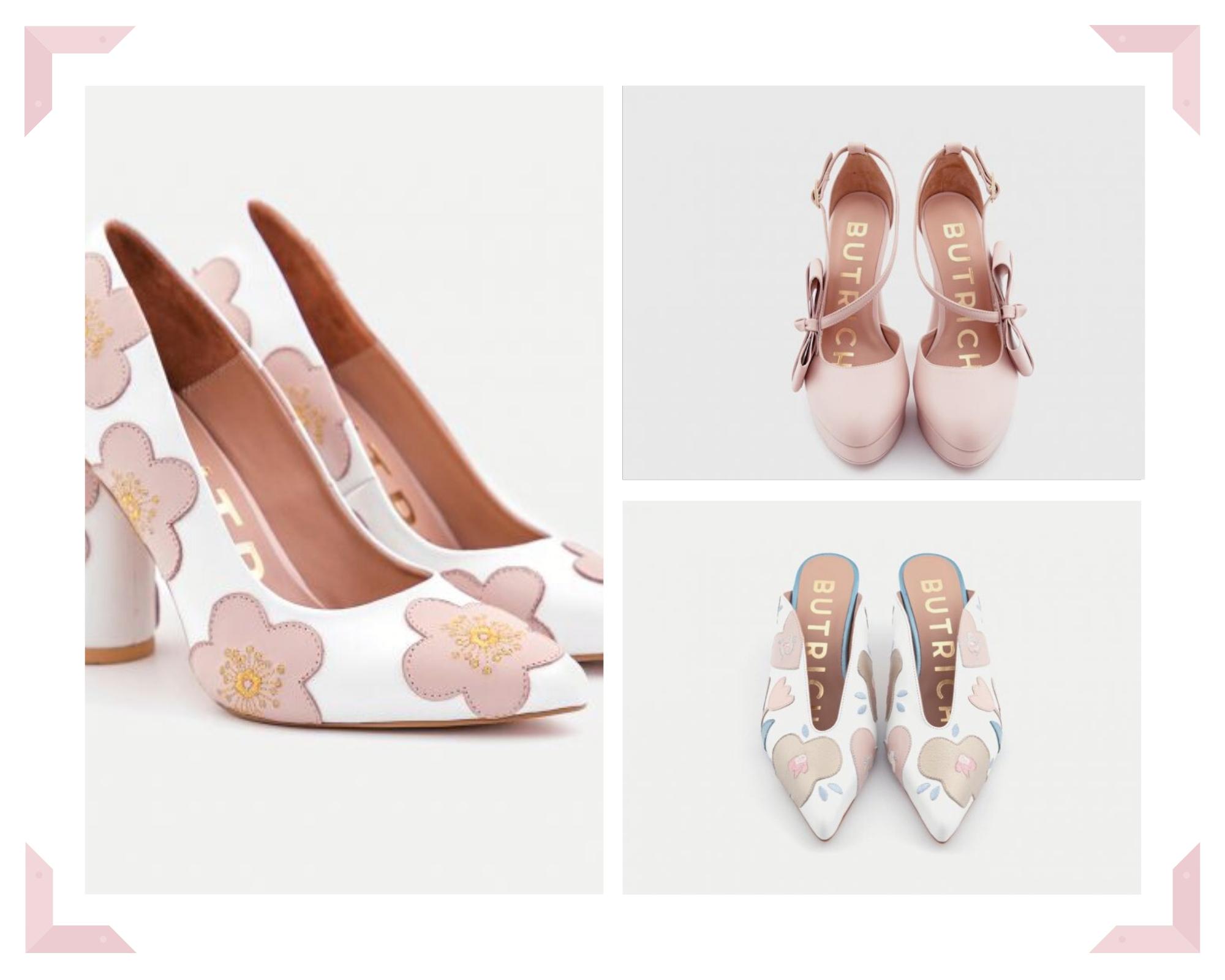 Butrich Bride, la nueva línea de zapatos de Jessica Butrich