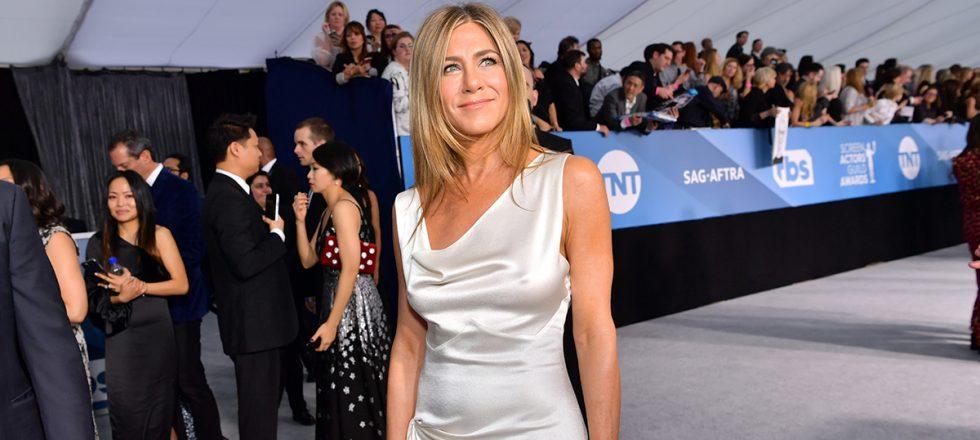 Jennifer Aniston y el vestido del momento