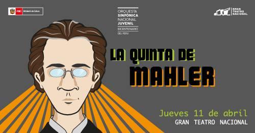 La OSNJB presentará el 11 de abril la muy compleja y demandante Sinfonía No. 5 de Gustav Mahler, obra cumbre del post romanticismo que implica un gran volumen y maestría orquestal.