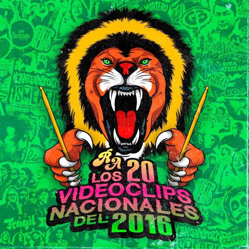 """Como todos los años, el indispensable colectivo Rock Achorao presenta su selección con lo mejor de la escena local. Si bien ya estamos preparando el ranking con los 50 discos nacionales del 2016 (el cual lanzaremos en los próximos días), ellos acaban de estrenar su propia selección con los videoclips musicales más destacados. Entre las menciones honrosas están las piezas audiovisuales realizadas para Barrio Calavera (""""Kumbiamerican Rockers""""), Cuchillazo (""""Sálvennos""""), Draco Troglodita (""""Víctima y..."""