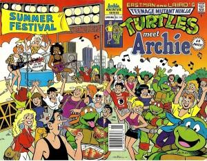 Teenage-Mutant-Ninja-Turtles-Meet-Archie-1991-Cover