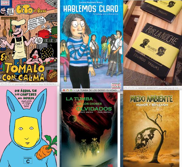 Nuevos cómics peruanos en la FIL