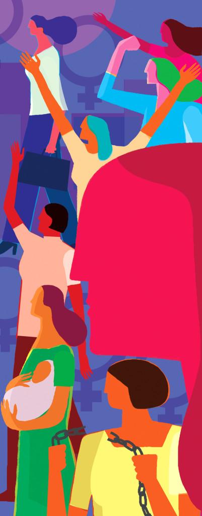 Hola. Gusto en tenerte por este blog. En este Día Internacional de la Mujer queremos presentarte 5 historias gráficas o cómics que se centran en la lucha y el empeño de mujeres por alcanzar la igualdad, el respeto y el reconocimiento. Cinco libros acordes a la actitud de estos nuevos tiempos, cargados de reivindicación y empoderamiento. Aquí van: (*dibujo de apertura: Víctor Aguilar)  1) PERSÉPOLIS  La iraní Marjane Satrapi cuenta a través de su autobiografía la historia de un pueblo y una época cargados de machismo, donde la...