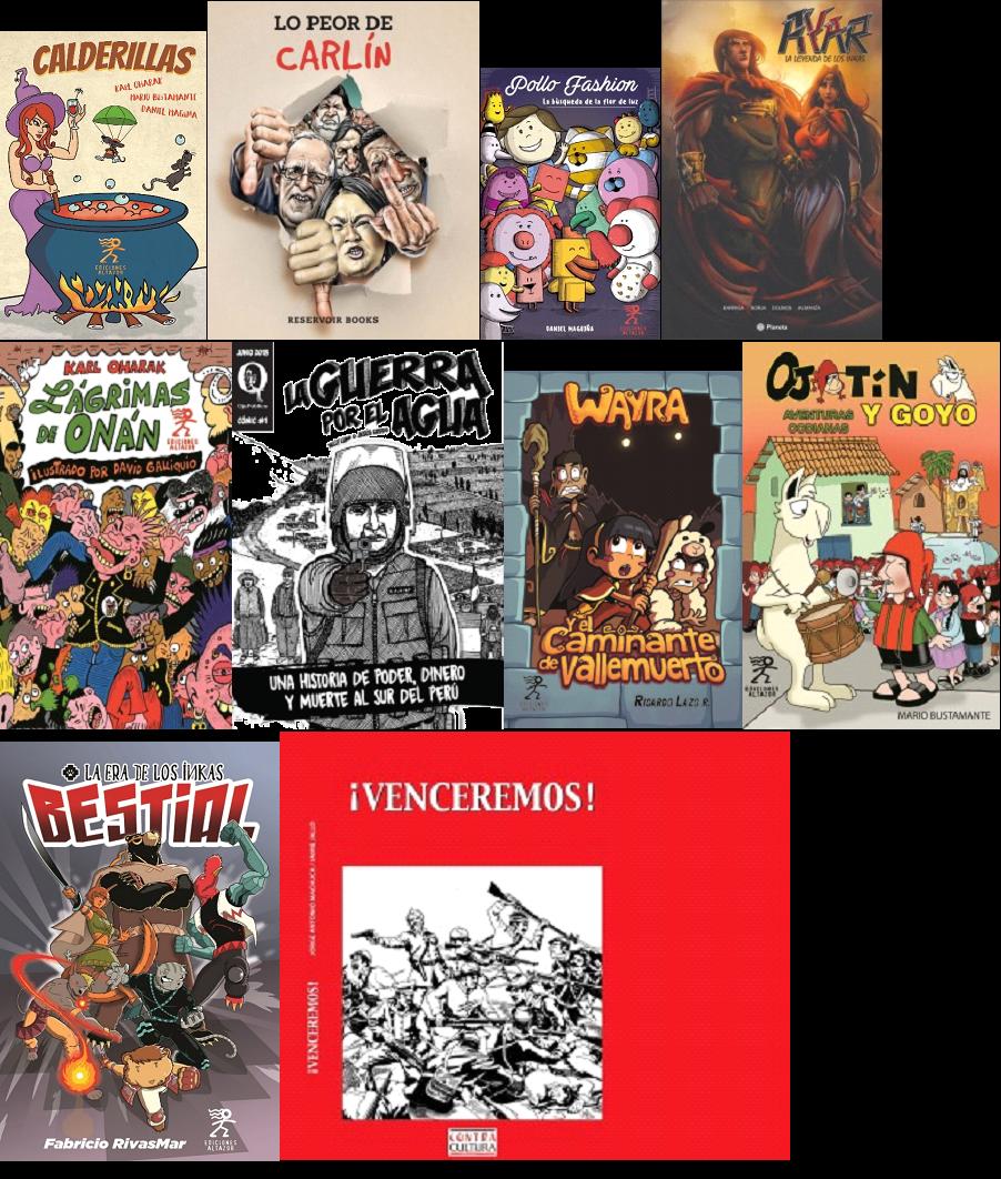 Los cómics peruanos que podrás encontrar en la FIL 2018