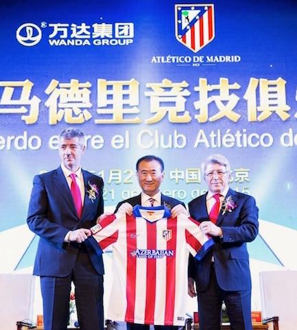 Wang Jianlin ha comprado un quinto de acciones en el Club.