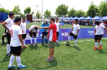 El DT del equipo peruano Nilo Miranda. Foto proporcionada por Nilo Miranda.
