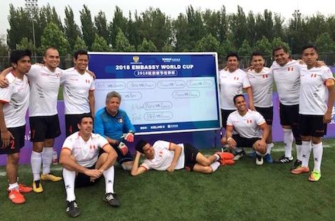El equipo peruano conquistó el cuarto puesto. Foto: Nilo Miranda.