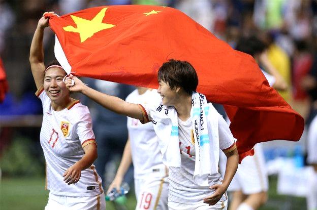 El equipo femenino de fútbol en el puesto 17 del Ranking FIFA.