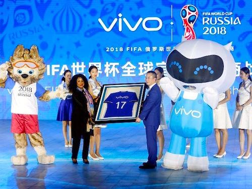 Patrocinadores chinos de la FIFA.