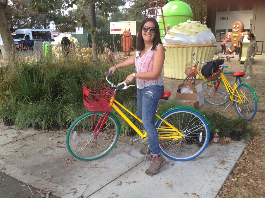 ¡Siempre quise montarme en una bicicleta de estas!