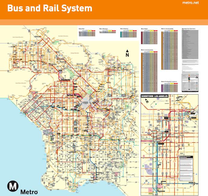 Sí, este mapa de Los Angeles marea, lo sé…
