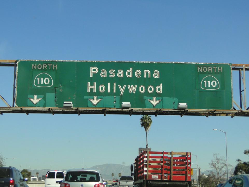 Las distancias en Los Angeles son muuuy largas.