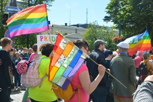 El Helsinki Pride 2015 Parade