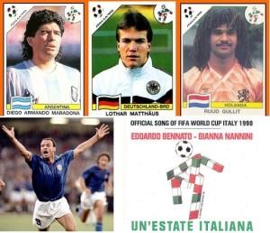 Aquella canción de Italia 90, ¿la mejor de un Mundial de Fútbol?
