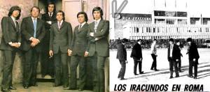 """Los Iracundos en Roma, """"Y la lluvia caerá""""... y los Beatles italianos"""