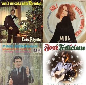 """Luis Aguilé, Mina, """"Un beso es poca cosa"""" y los hombres que le cantaban a la Navidad"""