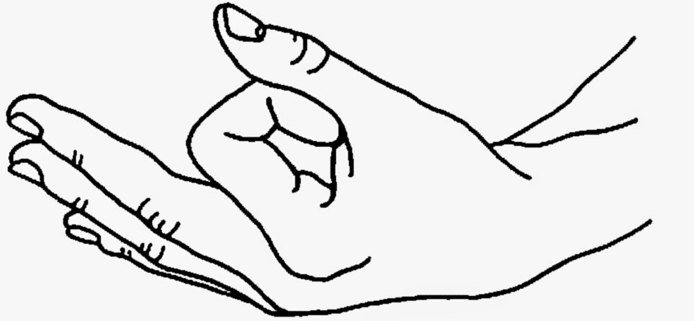 ¿Por qué las manos tienen una postura especial en meditación?