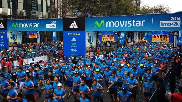 Lima 42K 2015 reunió más de 14,000 corredores