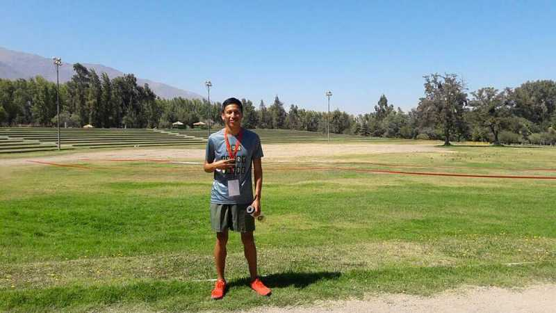 Rene Champi es el nuevo Campeón Sudamericano de Cross Country